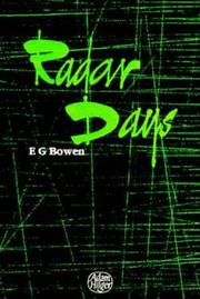 Radar Days, Bowen E G