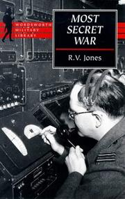 Most Secret War, Jones R V